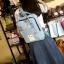 กระเป๋าเป้ Japan chic (กระเป๋าเป้สไตล์ญี่ปุ่น) สีฟ้า thumbnail 2