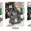 กระเป๋าเป้ Japan chic (กระเป๋าเป้สไตล์ญี่ปุ่น) สีเขียว thumbnail 3
