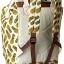 กระเป๋าเป้ Anello Canvas Limited Pineapple Ivory (Standard) ผ้าแคนวาส ลายสัปปะรด สีขาว thumbnail 3