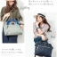 Large Anello Shoulder Boston Bag (สีเทา) thumbnail 3