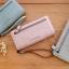 กระเป๋าสตางค์ผู้หญิง Crustal สี light gray thumbnail 4