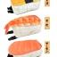 กระเป๋า Sushi Turnover แท้จากญี่ปุ่น (หน้าแซลม่อน) thumbnail 3