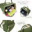 กระเป๋าเป้ Anello Canvas Khaki (Standard) ผ้าโพลีเอสเตอร์ กันน้ำ thumbnail 6