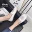 รองเท้าคัทชู ทรง slip on แต่งลายเสือสไตล์เคนโซ่ หนังนิ่ม พื้นนิ่ม งานสวย ใส่สบาย แมทสวยได้ทุกชุด (319-1247) thumbnail 3