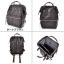 กระเป๋าเป้ Anello Premium Leather Dark Brown (Standard) thumbnail 6