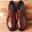 พรีออเดอร์ รองเท้าหนัง เบอร์ 39-48 แฟชั่นเกาหลีสำหรับผู้ชายไซส์ใหญ่ เก๋ เท่ห์ - Preorder Large Size Men Korean Hitz Shoes thumbnail 2