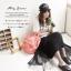 กระเป๋าเป้ Anello Lotte coral pink (Mini) thumbnail 8