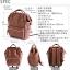 กระเป๋าเป้ Anello Leather Brown (Standard) หนัง PU กันน้ำ thumbnail 6