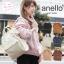 กระเป๋าเป้ Anello Leather white (Standard) หนัง PU กันน้ำ thumbnail 8