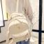 กระเป๋าเป้ผู้หญิง Sweet pastel สีชมพู ขาว ดำ thumbnail 5