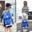 กระเป๋าเป้แฟชั่น MCJH MIKE DESIGNS (สีน้ำเงิน) thumbnail 1