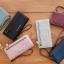 กระเป๋าสตางค์ผู้หญิง Crustal สี light gray thumbnail 3