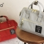 Mini Anello Boston shoulder Bag (สีเทา) thumbnail 6