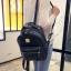 กระเป๋าเป้ผู้หญิง Sweet pastel สีชมพู ขาว ดำ thumbnail 2