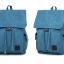 กระเป๋าเป้ Canvas vintage คุณภาพดี (สีฟ้า) thumbnail 12