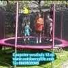 Coopster แทรมโพลีน 12ฟุต(3.66ม) สีชมพู