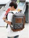 Y-MASTER Back pack(กระเป๋าเป้ สะพายหลัง) BA038 สีเทา พร้อมส่ง