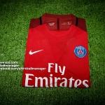 เสื้อบอลเวอร์ชั่นนักเตะปารีส เยือน Player Issue Paris Saint Germain Away 2016/2017
