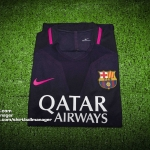 เสื้อบอลเวอร์ชั่นนักเตะ บาร์เซโลน่า เยือน Player Issue Barcelona Away 2016/2017 *มีสเปอนเซอร์
