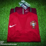 เสื้อบอลเวอร์ชั่นนักเตะโปรตุเกส เหย้า Player Issue Portugal Home EURO 2016