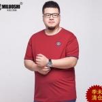 พรีออเดอร์ เสื้อยืด แฟชั่นเกาหลีสำหรับผู้ชายไซส์ใหญ่ อก 55.11 นิ้ว แขนสั้น เก๋ เท่ห์ - Preorder Large Size Men Korean Hitz Short-sleeved T-Shirt