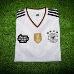 เสื้อบอลเวอร์ชั่นนักเตะ Adizero ทีมชาติเยอรมัน เหย้า Germany Home Player Issue 2017