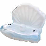 แพยางแฟนซี หอยมุก Seashell pool float
