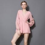 [พรีออเดอร์] เสื้อผู้หญิงแฟชั่นใหม่ แขนยาว แบบเก๋ สวย หวาน- [Preorder] New Fashion Long-sleeved Female Shirt