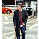พรีออเดอร์ เสื้อโค้ทแจ๊คเก็ตกันหนาว แฟชั่นเกาหลีสำหรับผู้ชายไซส์ใหญ่ อกใหญ่สุด 58.26 นิ้ว แขนยาว เก๋ เท่ห์ - Preorder Large Size Men Korean Hitz Long-sleeved Jacket Coat