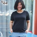 พรีออเดอร์ เสื้อแฟชั่นเกาหลี คอกลม ไซส์ใหญ่ สำหรับสาวอ้วนไซส์ใหญ่มาก 2XL-8XL แขนสั้น - Preorder Women Korean Hitz New Extra Large Size Short-Sleeved Shirt Size 2XL-8XL