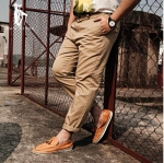 [พรีออเดอร์] กางเกงแฟชั่นเกาหลีผู้ชายไซต์ใหญ่ size 36 - 48 ขายาว - [Preorder] Plus size Men ฺKorean Hitz size 36 - 48 Long Trousers