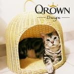 ที่นอนหวายเทียม สำหรับสัตว์เลี้ยง By Qrown Design