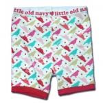 กางเกง สีขาว-แดง ลาย Dad's Little Love Bird ยี่ห้อ Old Navy 4T