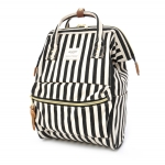 กระเป๋าเป้ Anello Stripe ฺBlack (Mini)
