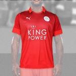 เสื้อบอลเลสเตอร์ ซิตี้ เยือน Leicester city Away 2016/2017