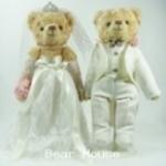 ตุ๊กตาหมีคู่รัก ขนาด 0.30 เมตร (แบบที่ 4)
