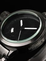นาฬิกาข้อมือแฟชั่น นาฬิกาสายเหล็ก นาฬิกาInfantry watch (In-Stock)