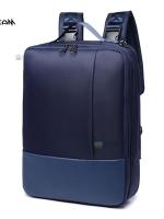 Back pack(กระเป๋าเป้ สะพายหลัง) BA057 สีน้ำเงิน พร้อมส่ง