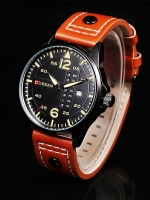 นาฬิกาข้อมือ Curren สายหนังแท้ รุ่น A16