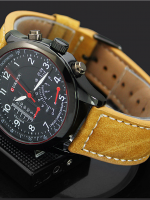 นาฬิกาข้อมือสปอร์ต ผสมผสานวินเทจ Curren Watch