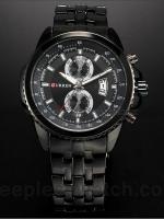 นาฬิกาข้อมือชาย สายเหล็ก Curren Watch