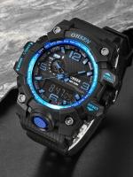 นาฬิกาข้อมือสายซิลโคลน OHSEN รุ่น OS-05-BLU