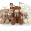 ตุ๊กตาหมีอ้วนขนกุหลาบ รุ่น BP050083 ขนาด 0.95 เมตร thumbnail 1