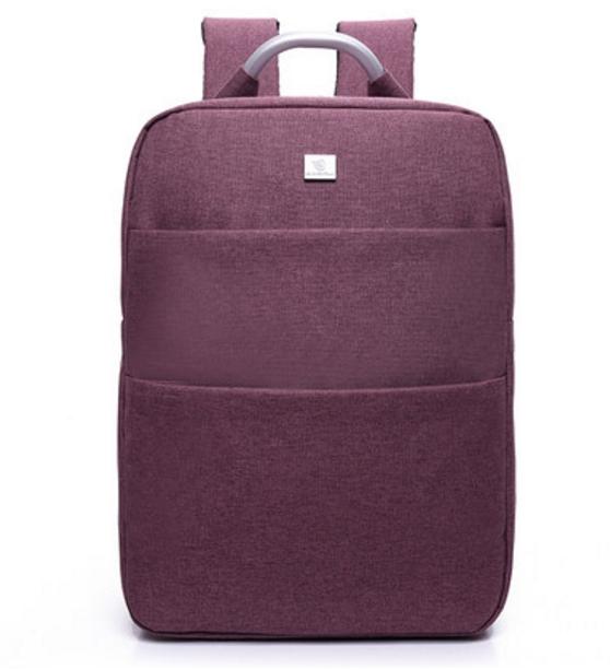 กระเป๋าเป้ Notebook Baisirui High quality (สีม่วง)