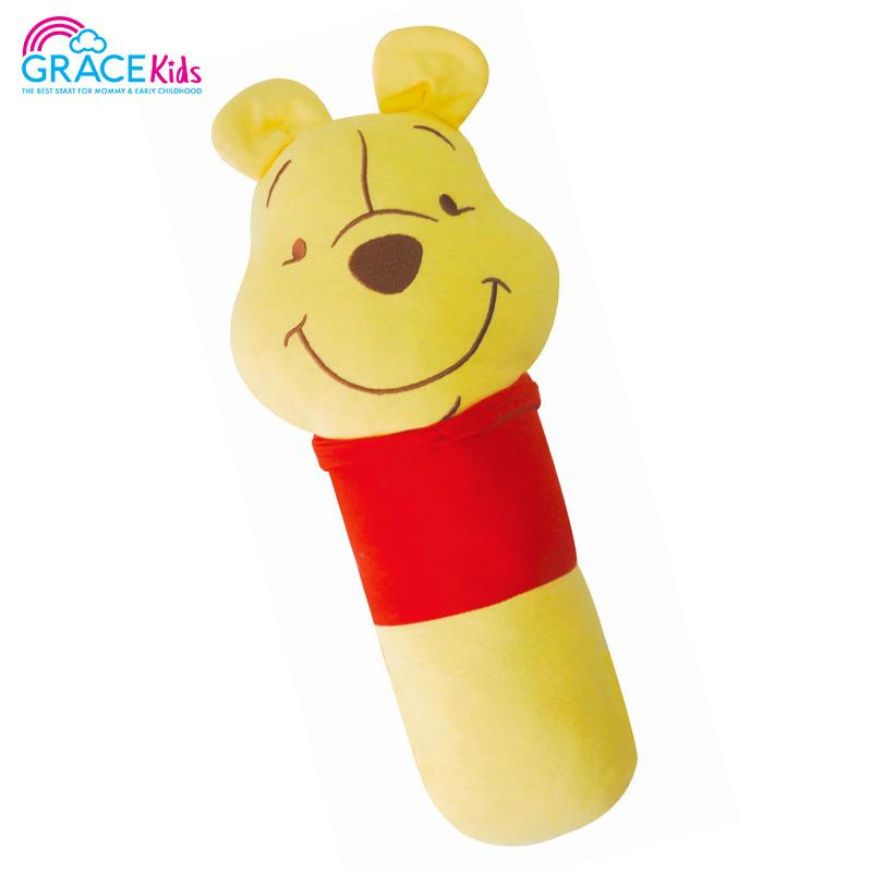 Pooh หมอนข้างผ้ายืด ขนาดเล็ก