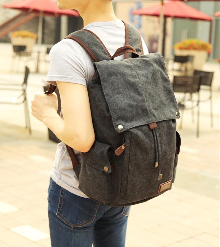 กระเป๋า MOYYI CANVAS คุณภาพดี ( สีดำ )