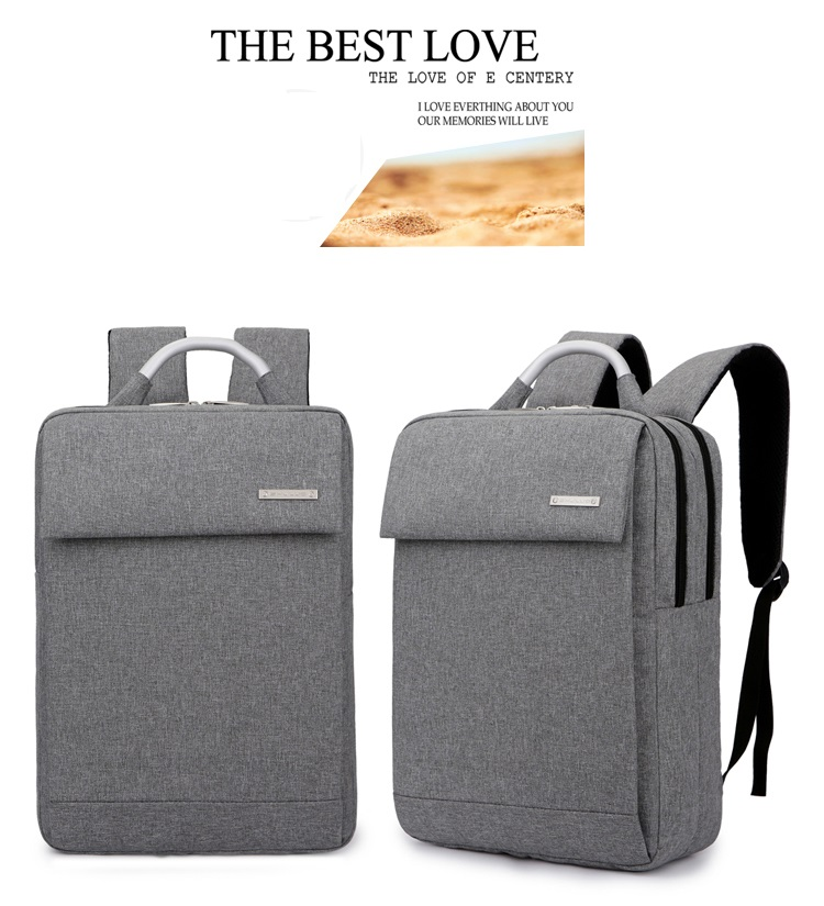 กระเป๋าโน๊ตบุค SHJLU (สีเทา)