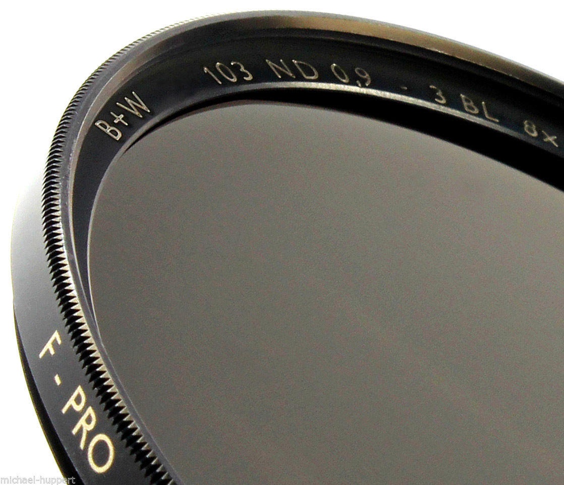 B+W 43 mm 0.9 ND 103 F-pro Neutral Density ND 8x with Single Coating 3 Stop