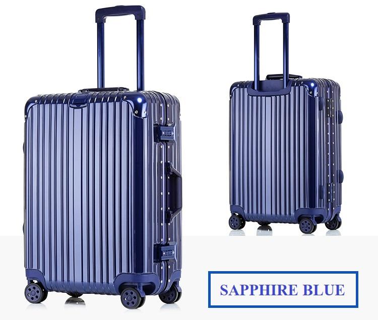 กระเป๋าเดินทางล้อลาก Hefty Hard Suitcase สี SAPPHIRE BLUE