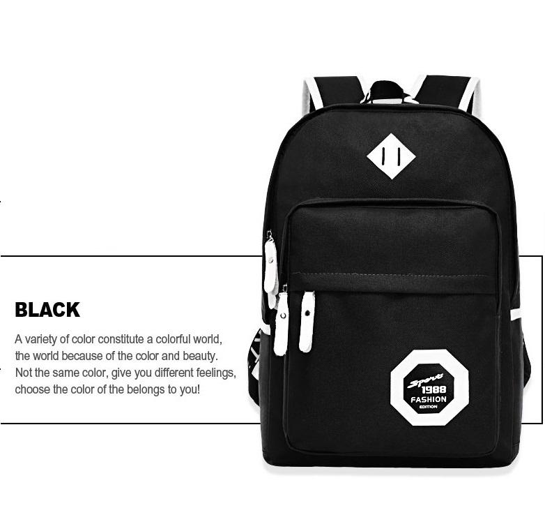 กระเป๋าเป้ Leisure 1988 ( สีดำ )